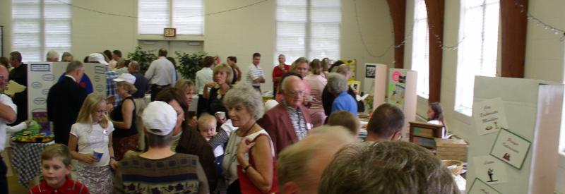 Ministry Fair - People looking at exhibits